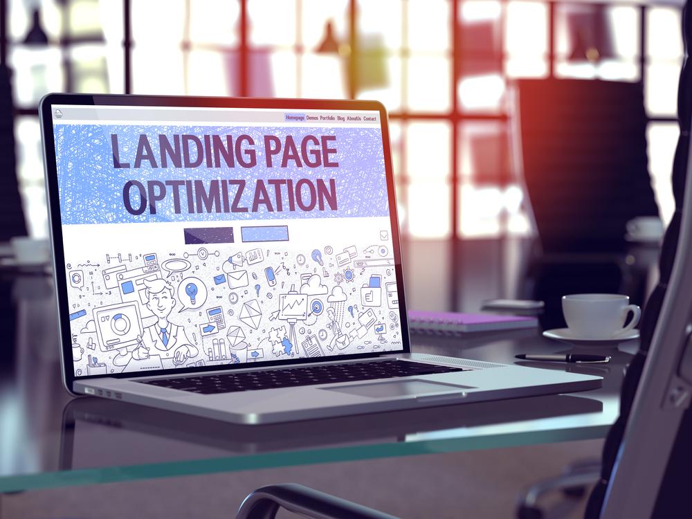 landing page SEM